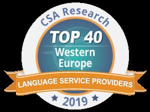 Tradutec Belgium et le Groupe Tradutec installés dans le TOP 40 européen des sociétés de traduction